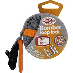 Sea to Summit Bomber Lashing Strap 3,0m, orange/grey